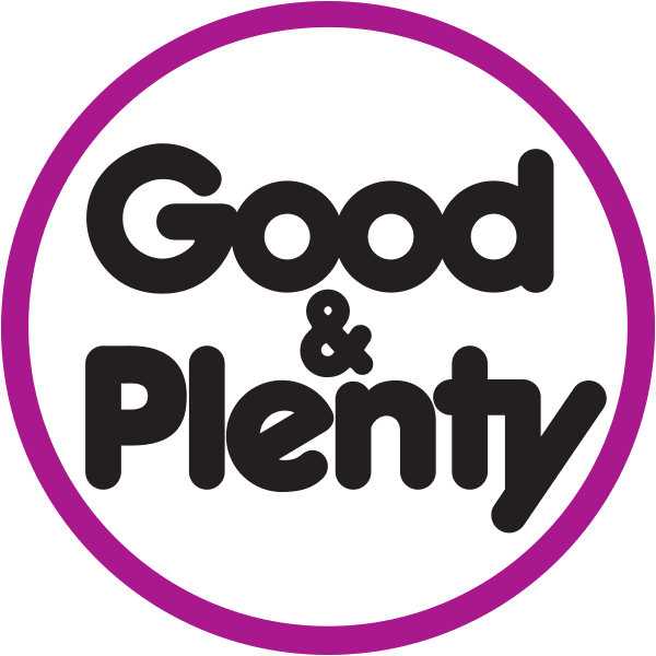 Good and Plenty Brand Logo