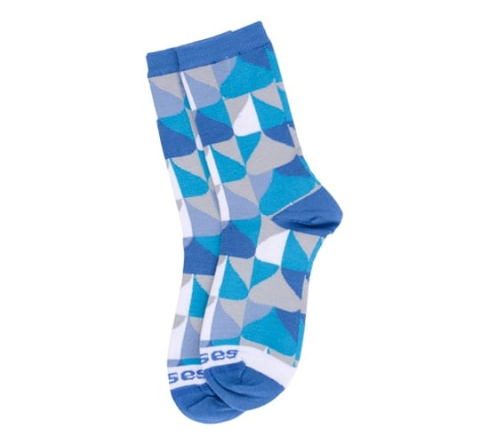 HERSHEY'S KISSES Candy Geometric Socks