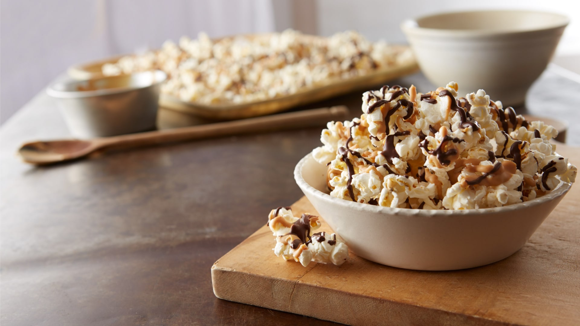 Drizzled Party Popcorn