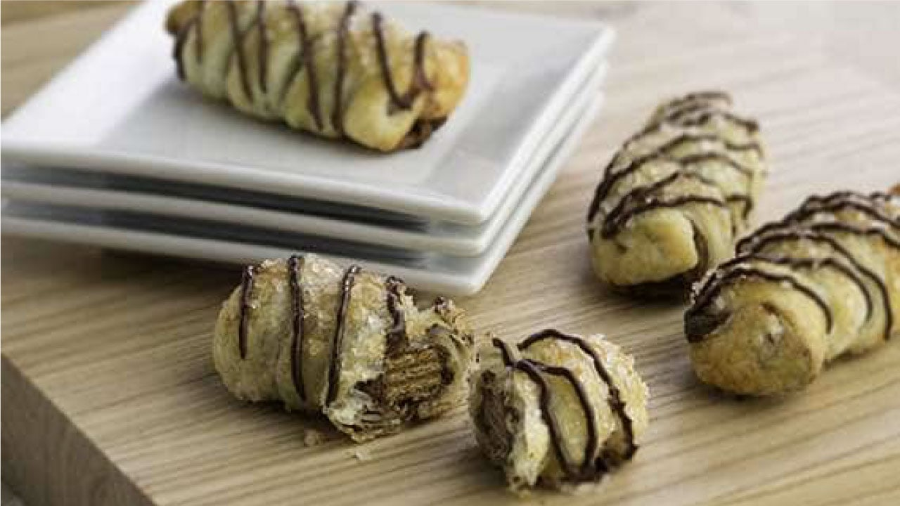 Chocolate Pastry Twists
