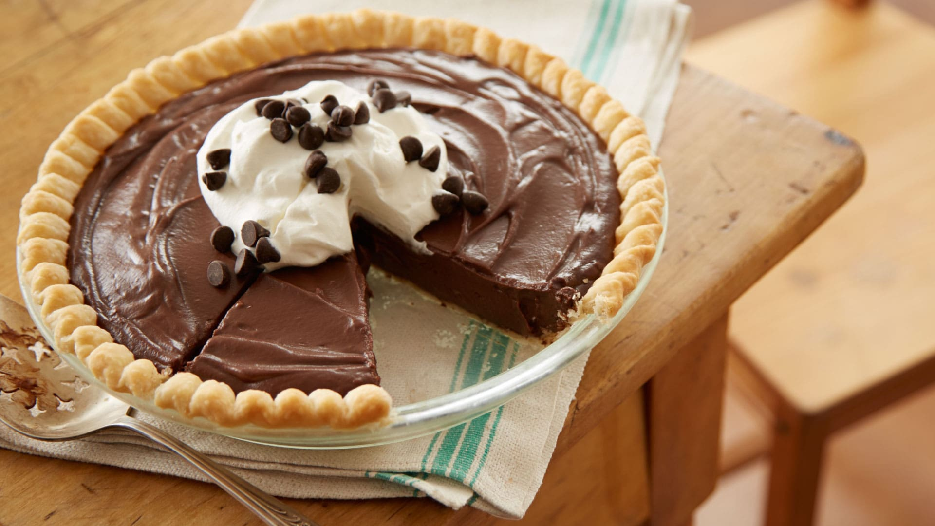 hersheys gone to heaven chocolate pie