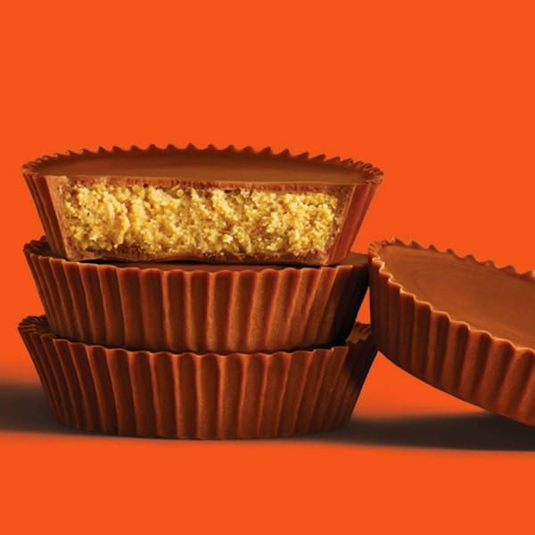 Reese's Peanut Butter Cups Stacked